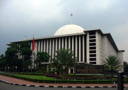 Tiền đường Masjid Istiqlal