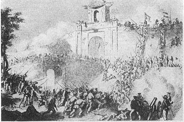 Pháp chiếm thành Gia Định