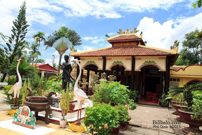 Đền thờ Nguyễn Trung Trực tại Phú Quốc