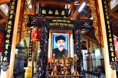 Ngai thờ Nguyễn Trung Trực