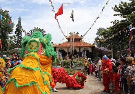 Lễ hội Nguyễn Trung Trực tại Gành Dầu