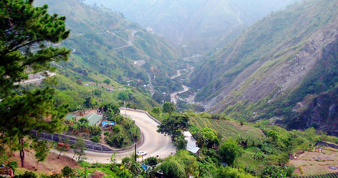 Đường đến Baguio