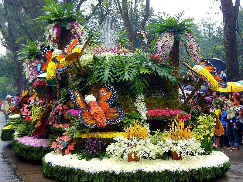 Xe hoa tại lễ hội Panagbenga