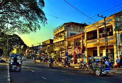 Vientiane - thành phố yên bình
