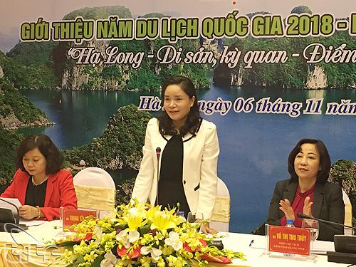 Họp báo công bố Năm Du lịch Quốc gia 2018