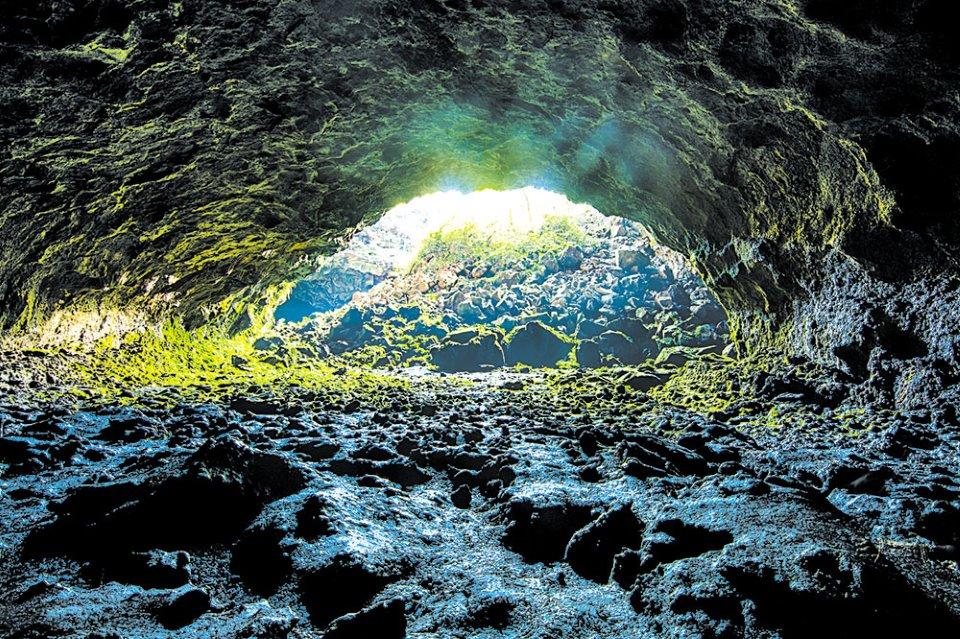 Một góc hang động núi lửa Krông Nô