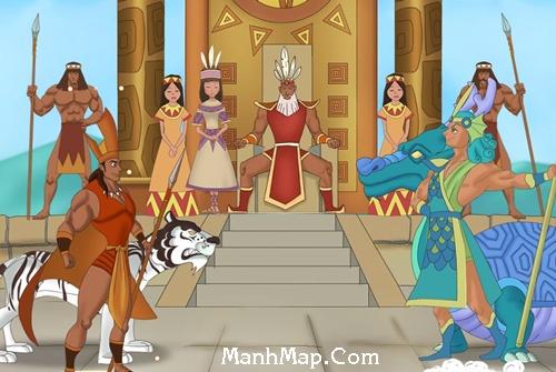 Truyền thuyết vua Hùng kén rể