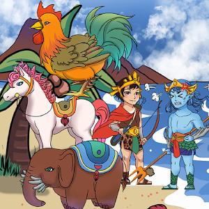 Sính lễ gồm voi 9 ngà, gà 9 cựa, ngựa 9 hồng mao