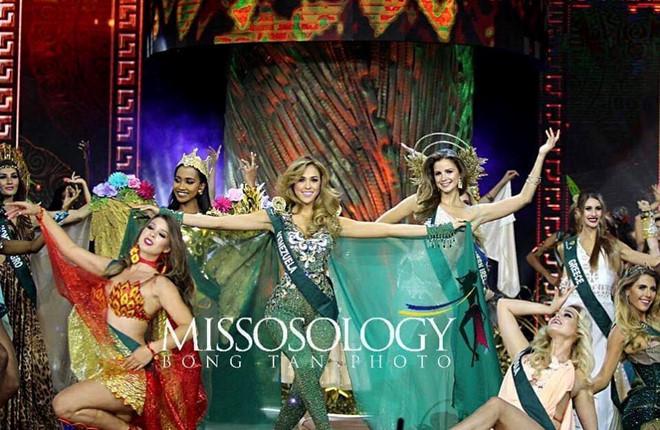 Đêm chung kết Hoa hậu Trái đất 2018