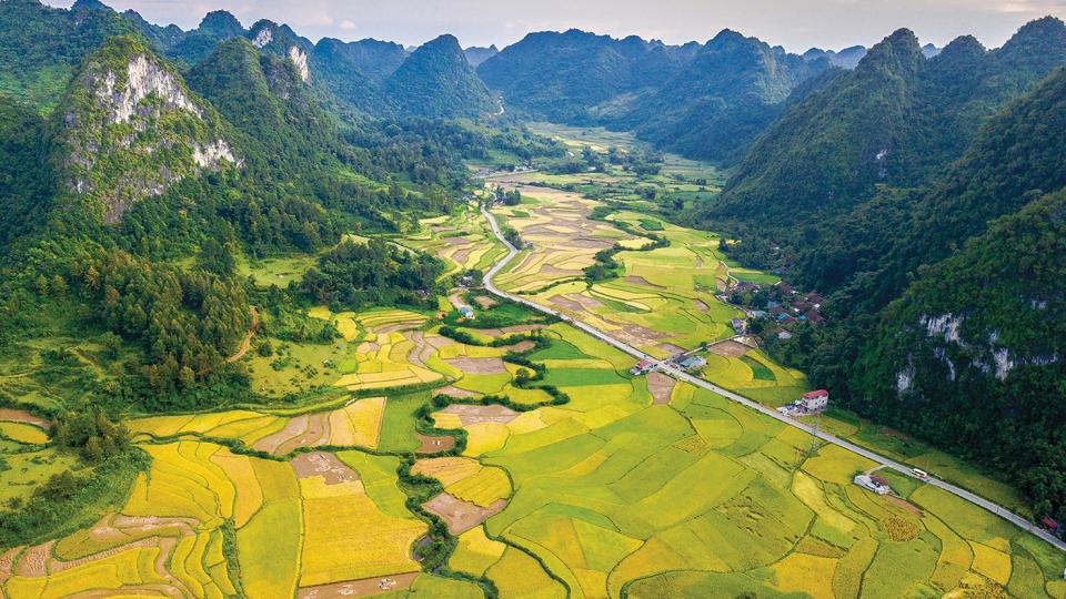 Cảnh sắc thiên nhiên Cao Bằng