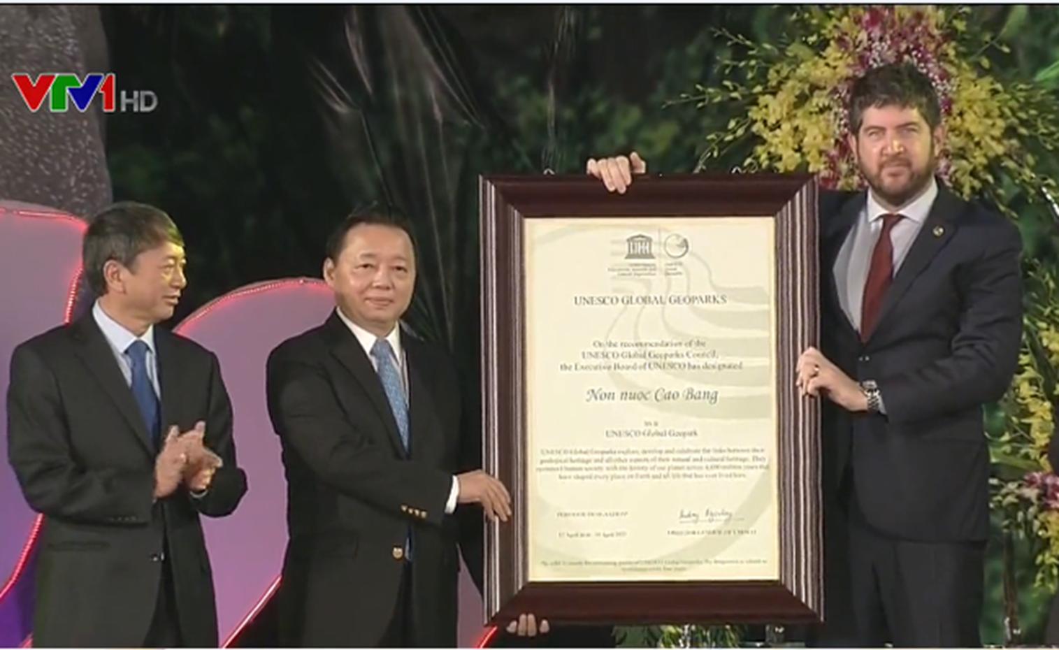 Tỉnh Cao Bằng đón nhận danh hiệu CVĐCTC UNESCO